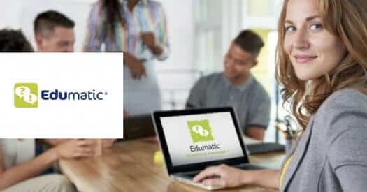 Edumatic: offering self-paced online training courses and measuring their ROI