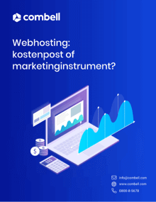 Web hosting: cost item or marketing tool?