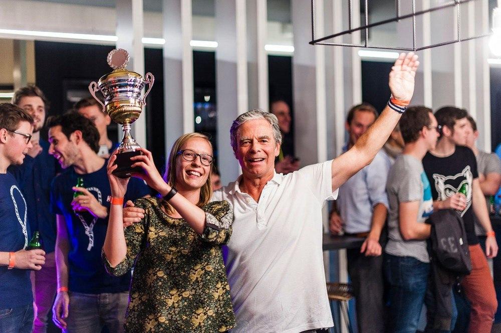 Fils de la palette ping-pong winners