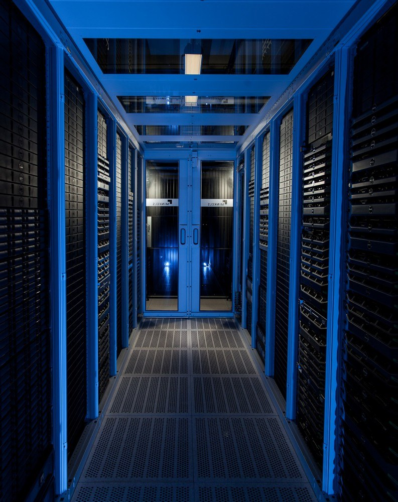 Minkels Cold Corridor in the data centre