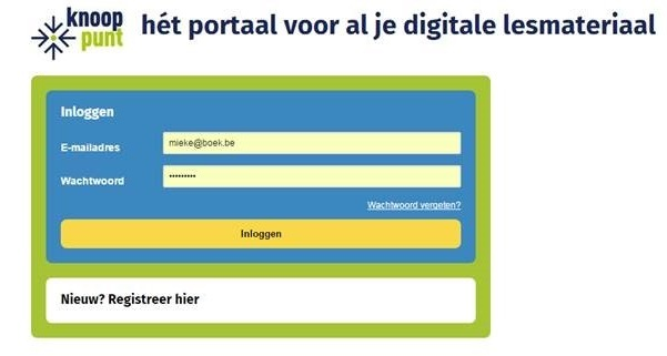 Knooppunt, digital learning platform