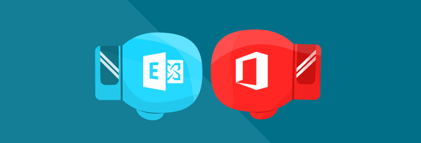 Office 365 Outlook mail vs Hosted Exchange