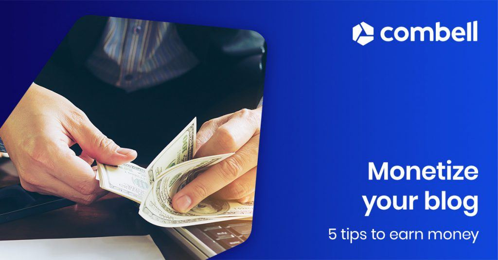 5 tips to make money from your blog