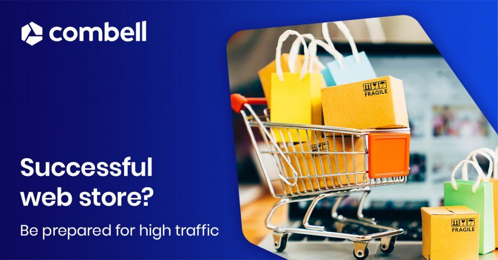 A successful web store during busy periods, make sure you are ready