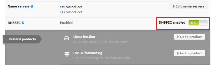 Activate DNSSEC