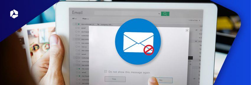 Avoid that your e-mail marketing is considered spam