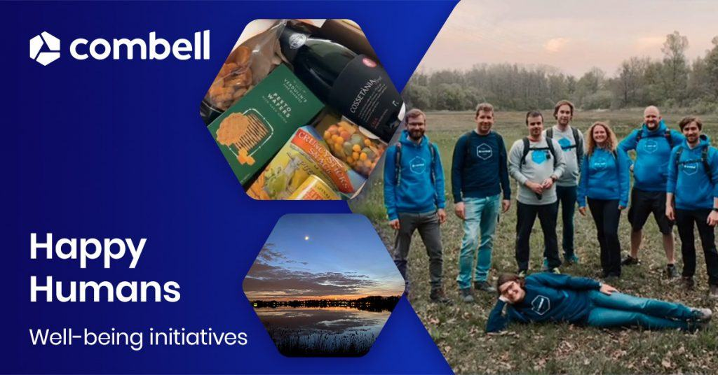 Combell Happy Humans well-being initiatives