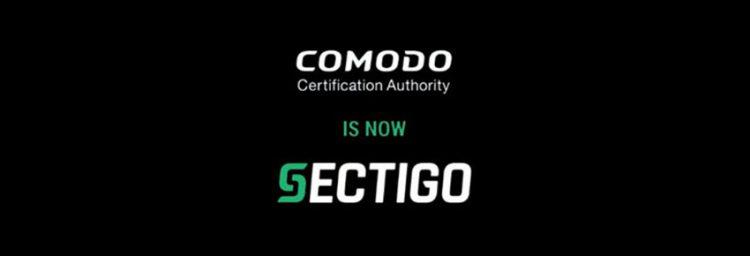 Comodo becomes Sectigo