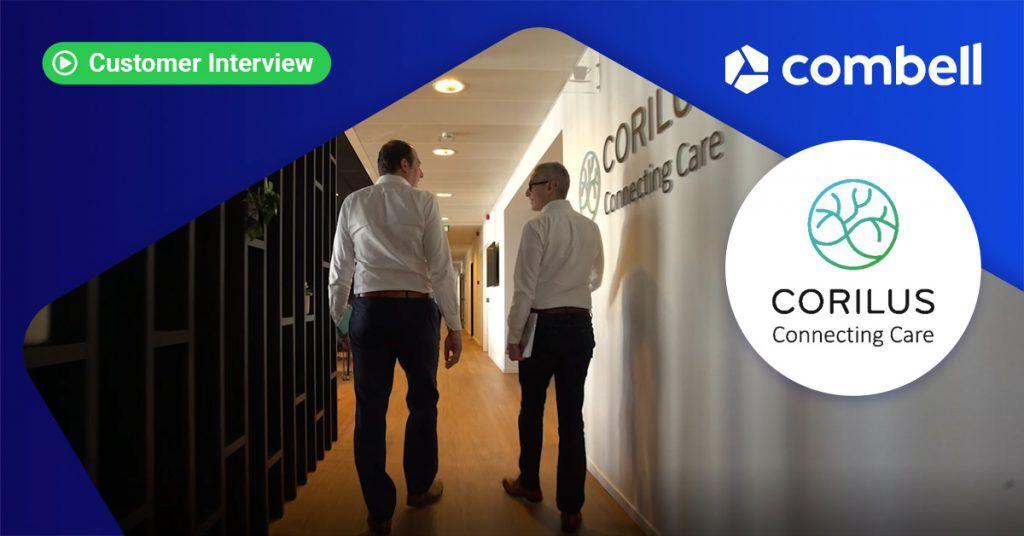 Corilus customer case digitalisering gezondheidszorg
