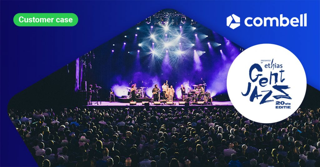 Gent Jazz and Jazz Middelheim hosted by Combell