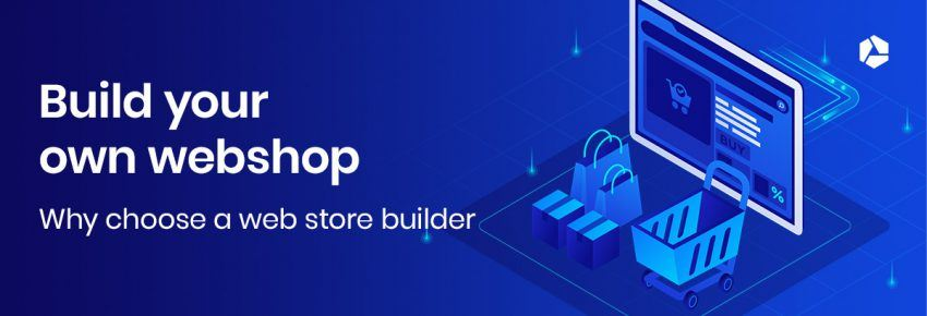 Get started with e-commerce with a web store builder