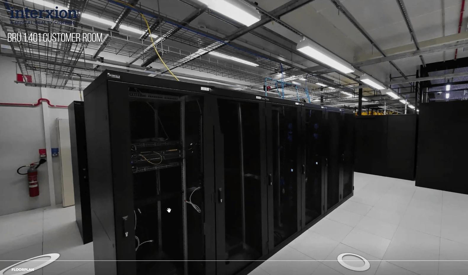 Interxion 360 virtual tour