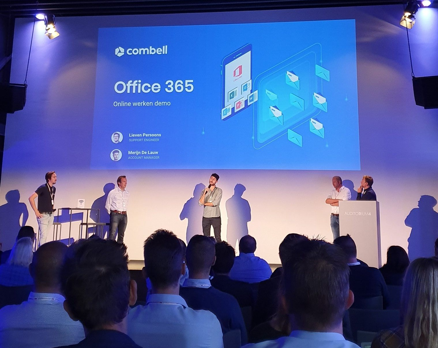 Office 365 demo op Grow Together