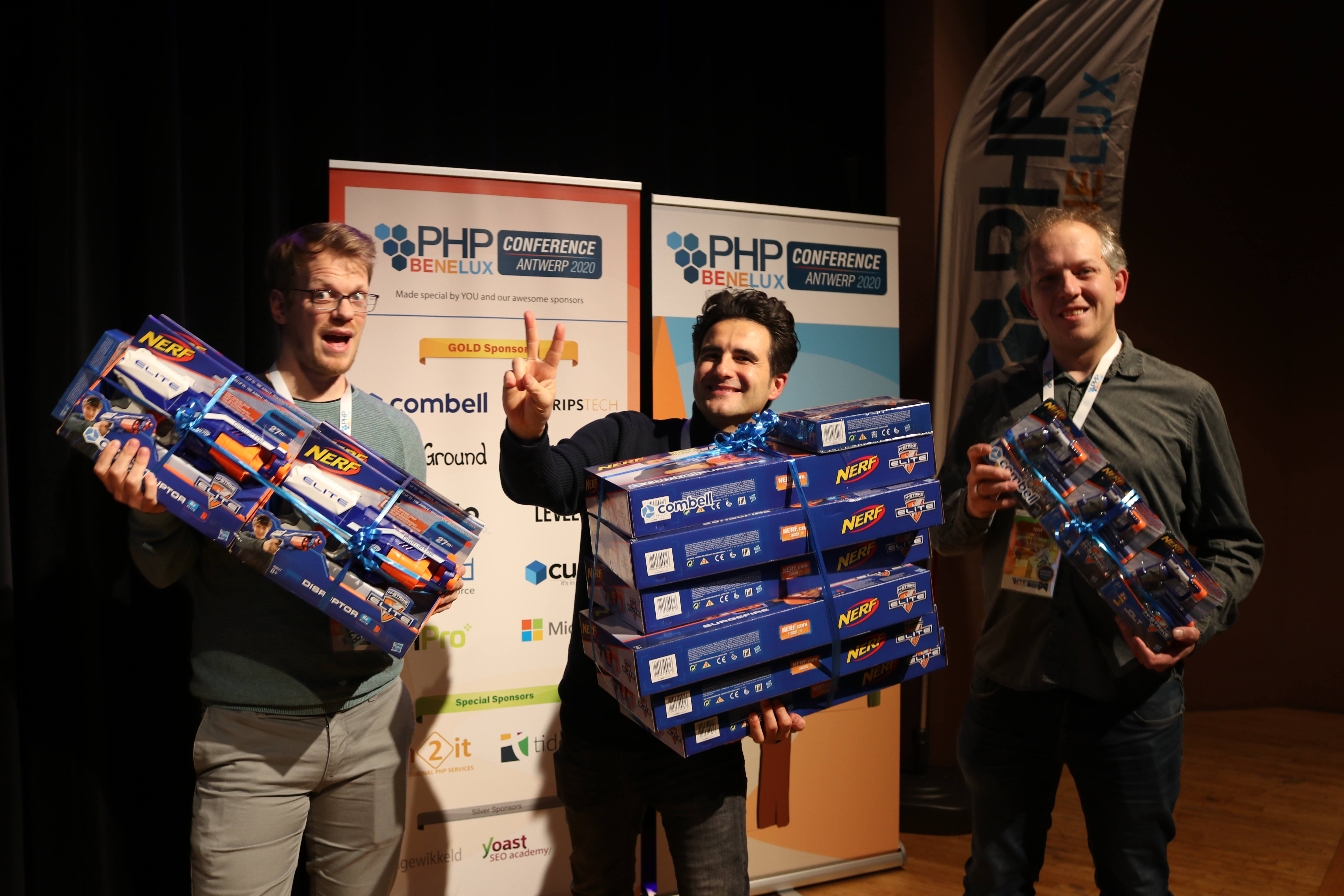 PHPBenelux Conference winners