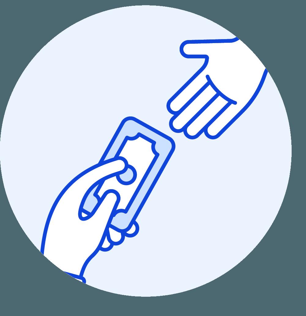 Price of a premium domain name