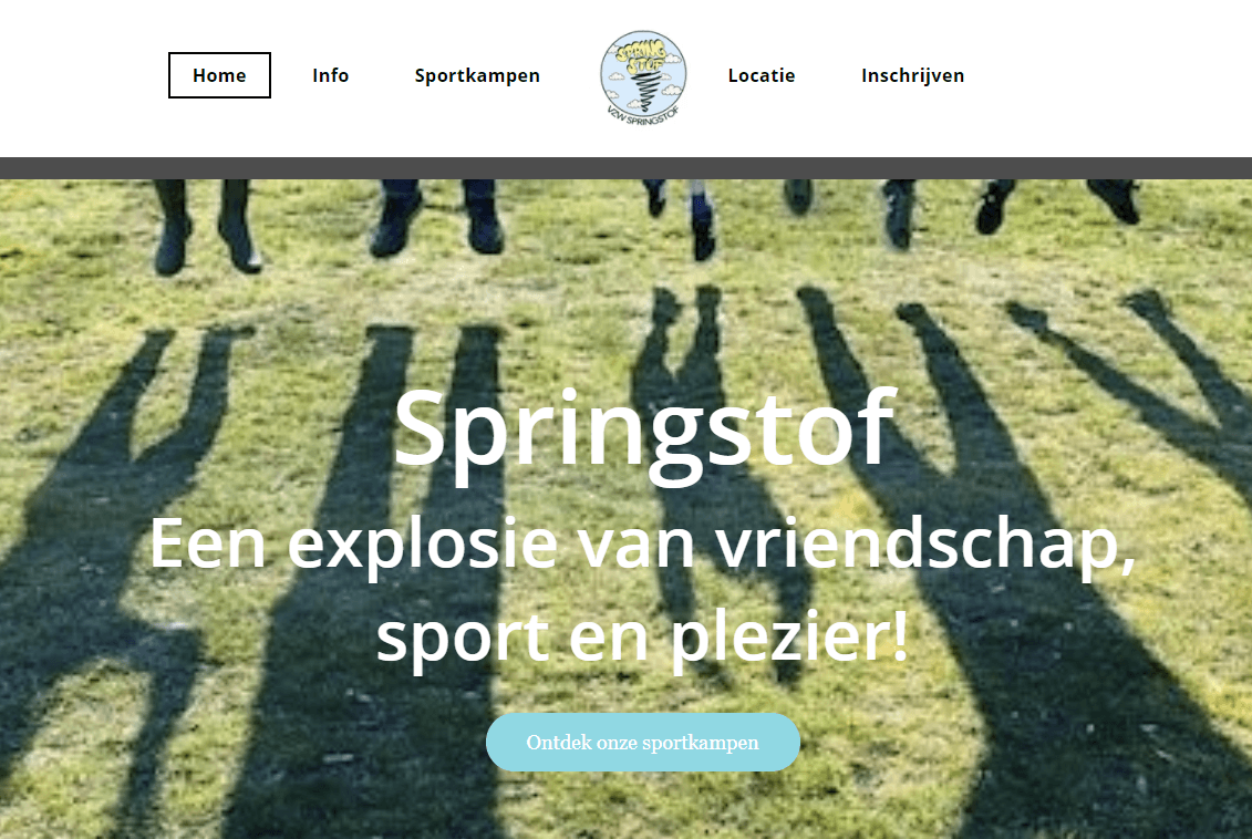 SpringStof built with SiteBuilder