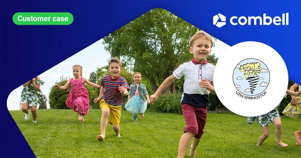 SpringStof makes website for its sports camps in SiteBuilder