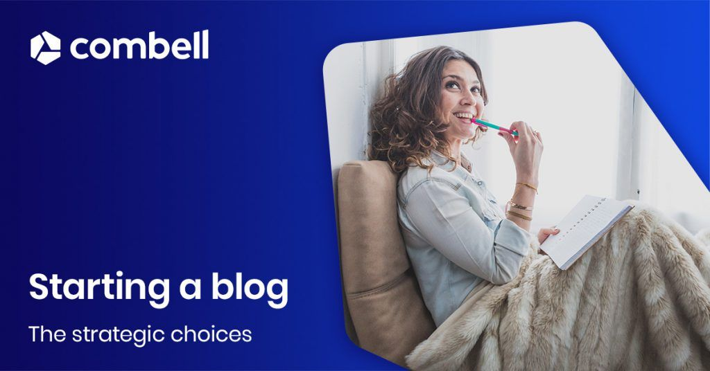 Strategic choices for starting a blog