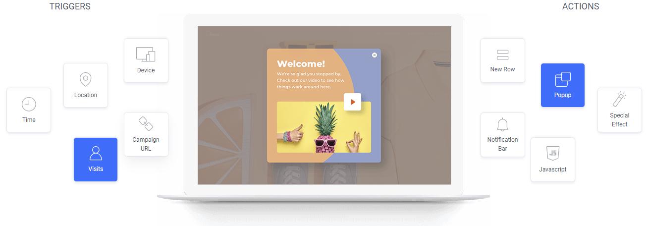 Themes make a website builder easy