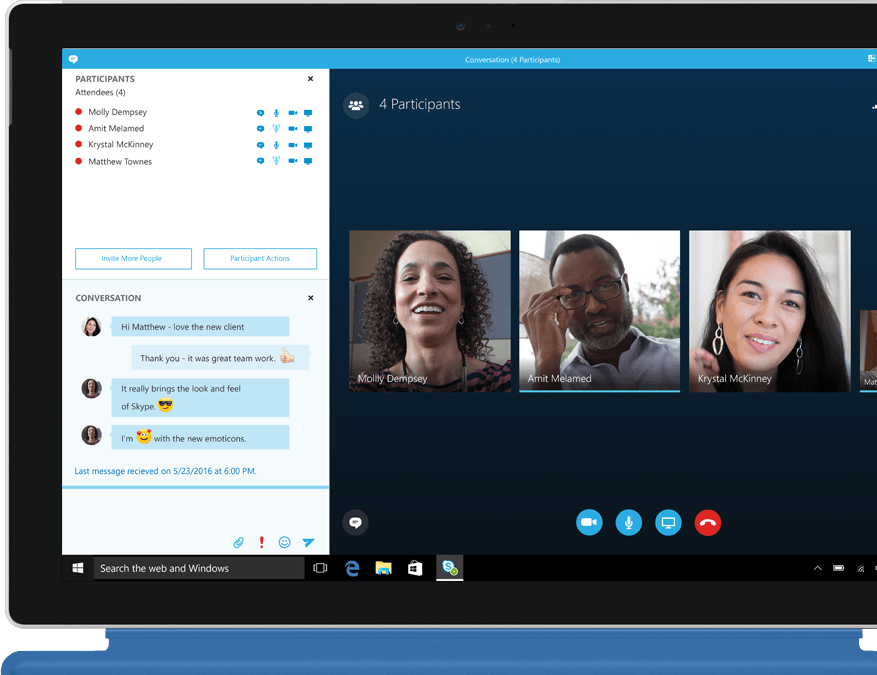 Web meetings with Office 365 of combell