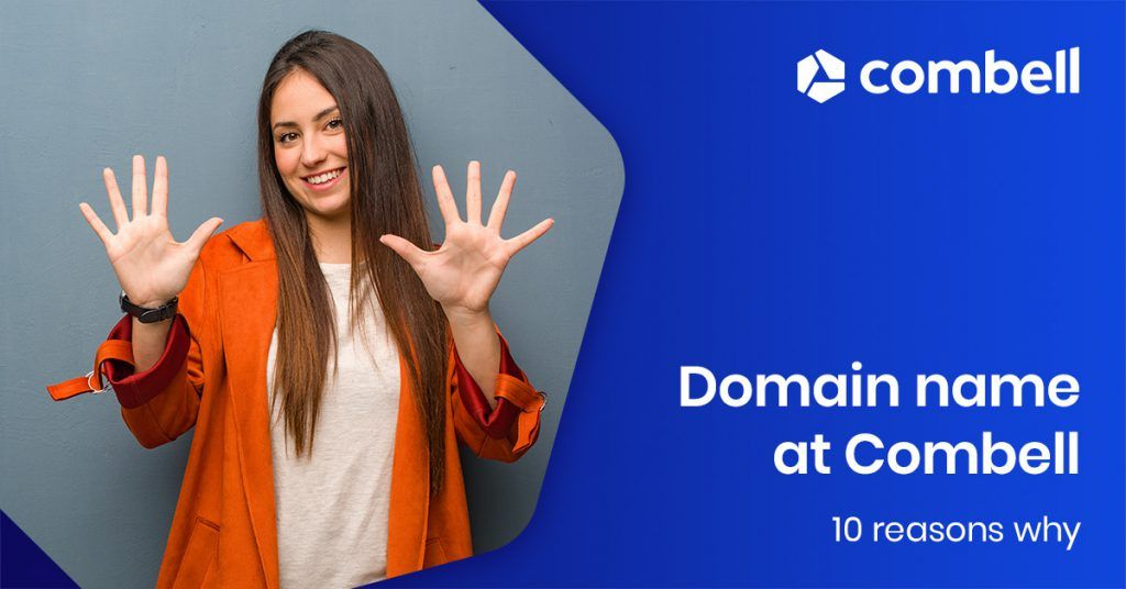Why register domain name at Combell