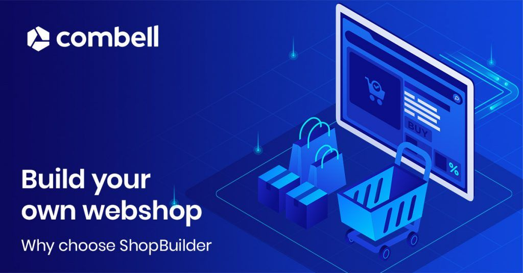 Why you should build your web store with Combell ShopBuilder