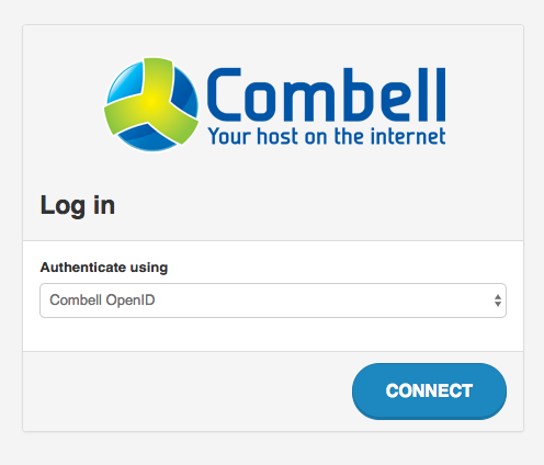 log in your OpenStack control panel