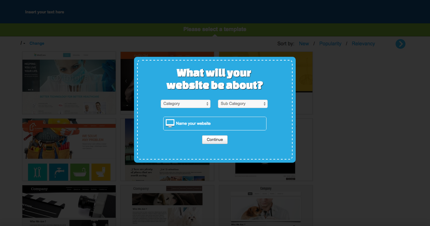 What will your website be about?