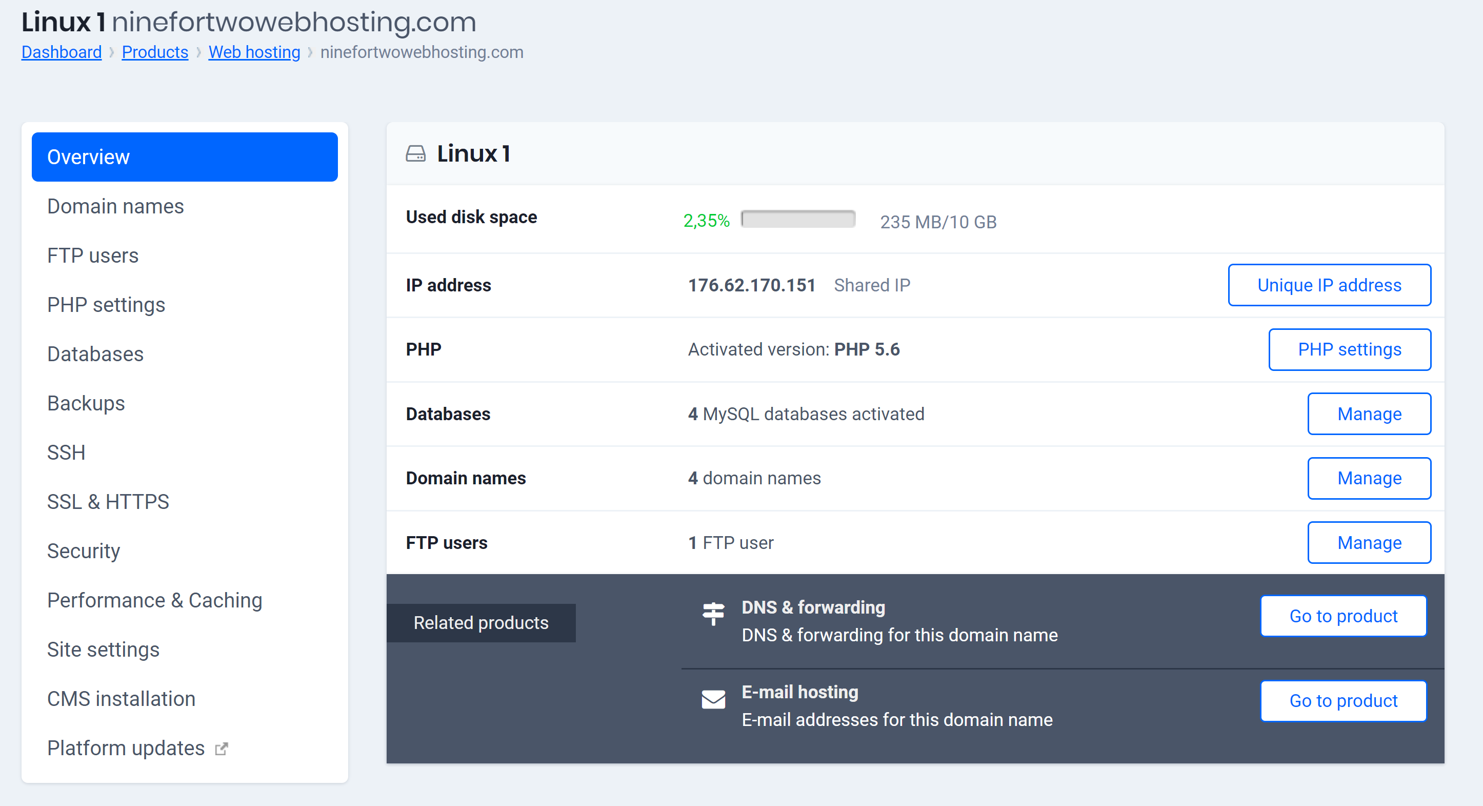 IP address reseller