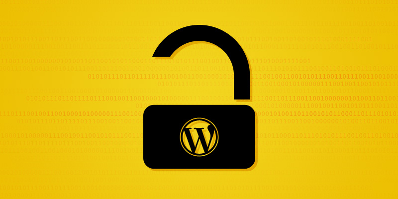 wordpress security bug