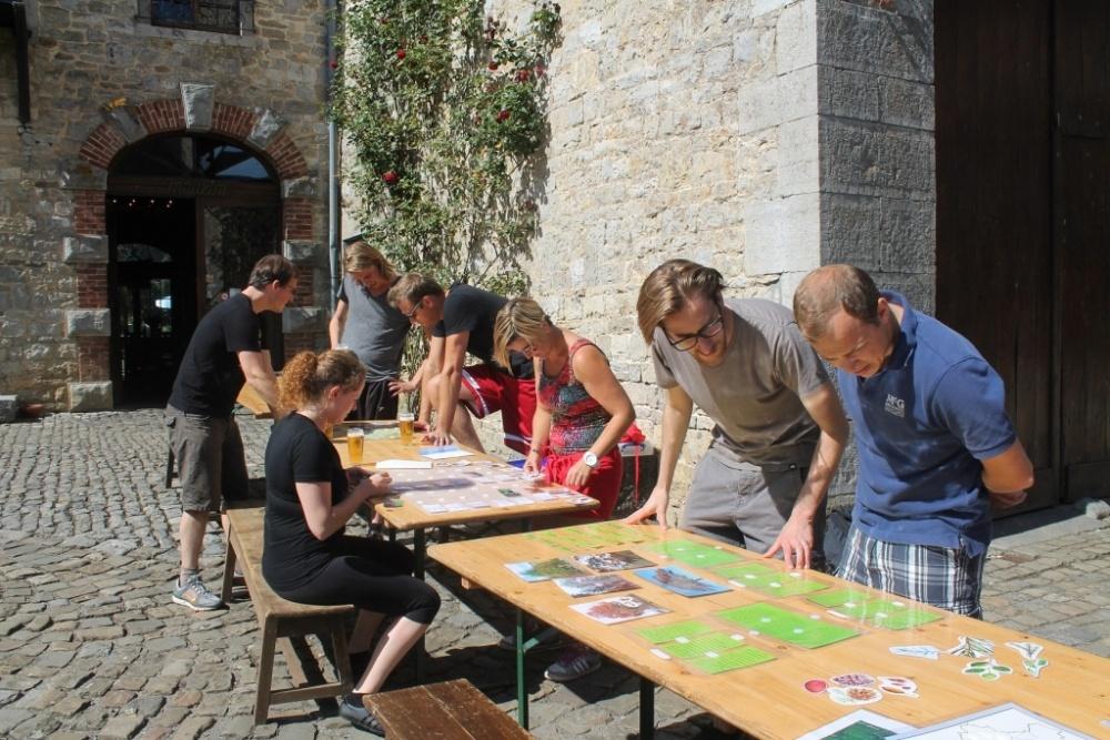 Combell team building test des Ardennes