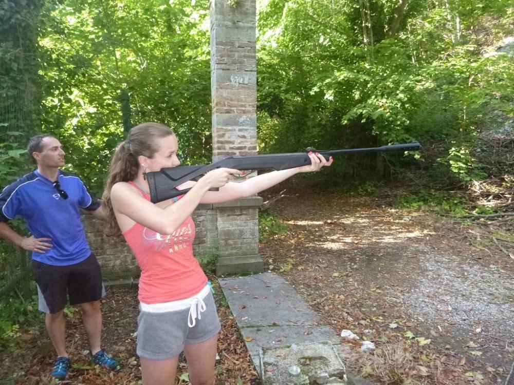Combell team building tir à la carabine