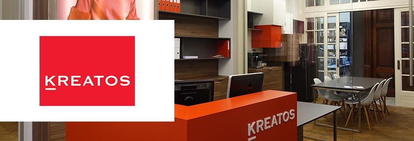 Kreatos coiffeurs optent pour hébergement de Combell