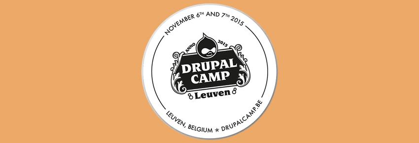 DrupalCamp à Louvainavec Drupal 8 dans le rôle principal