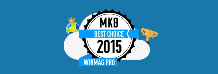 Combell gagne Winmagpro MKB best choice award 2015