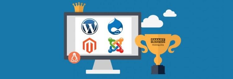 Hébergement pour SGC configurés de manière idéale pour WordPress, Joomla, Drupal ou Magento