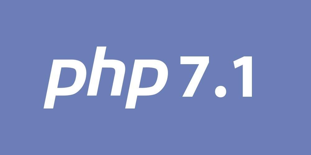 PHP 7.1 est disponible sur notre hébergement web