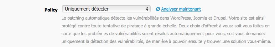 Patching automatique détecte les vulnérabilités