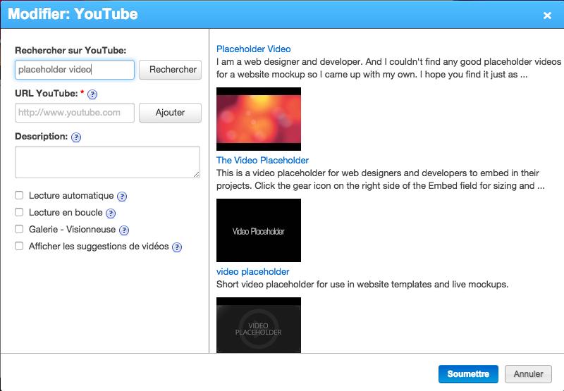 Rechercher sur YouTube
