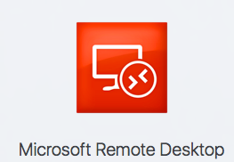 l'application Microsoft Remote Desktop