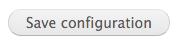 Save configuration