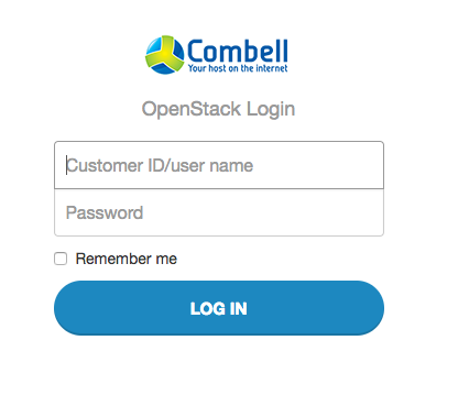 OpenStack login