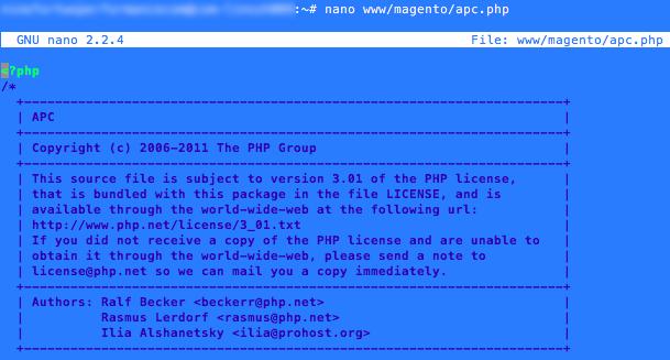 fichier apc.php