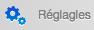 Menu Widgets > Réglagles