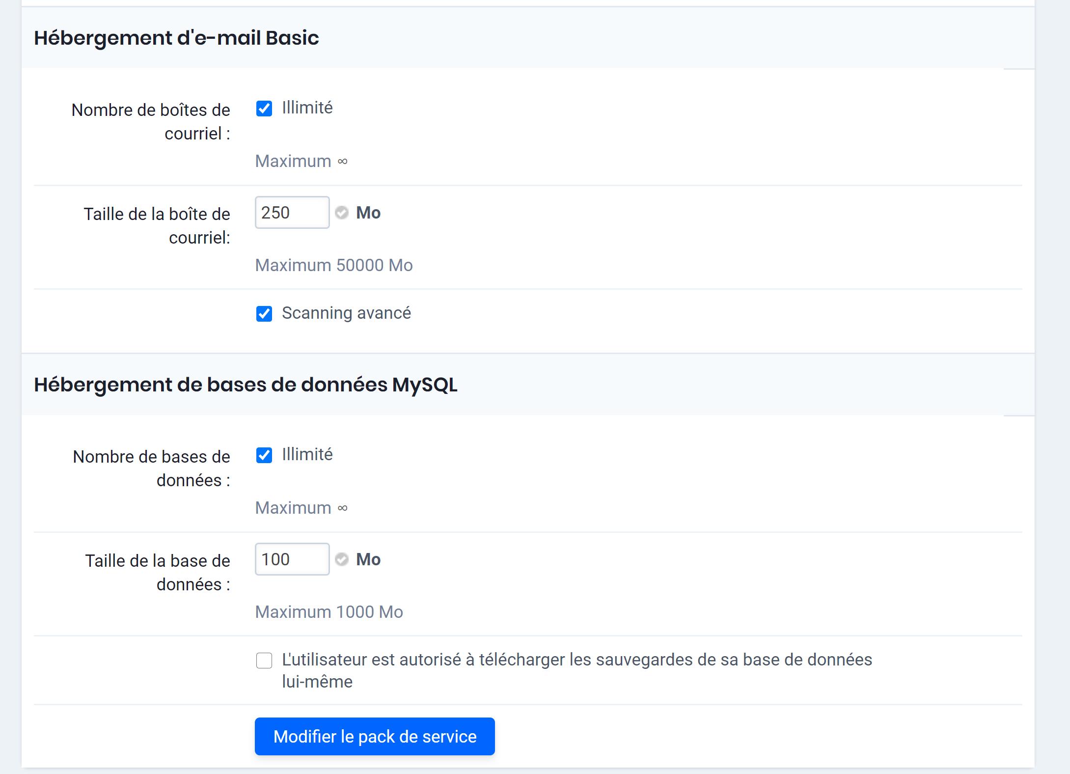 Activer le filtrage anti-spam avancé pour clients