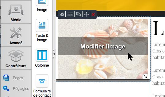 Modifier image