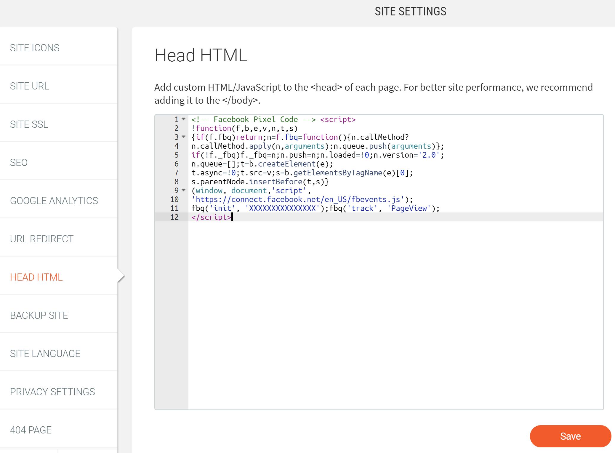 Paramètres d'En-tête HTML