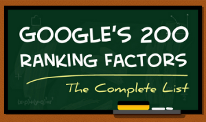 Google factors