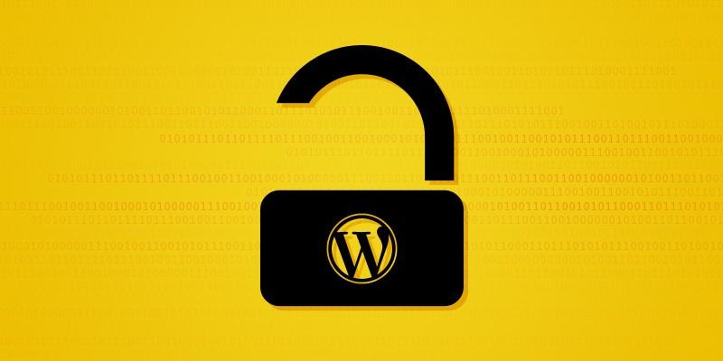 wordpress security bug