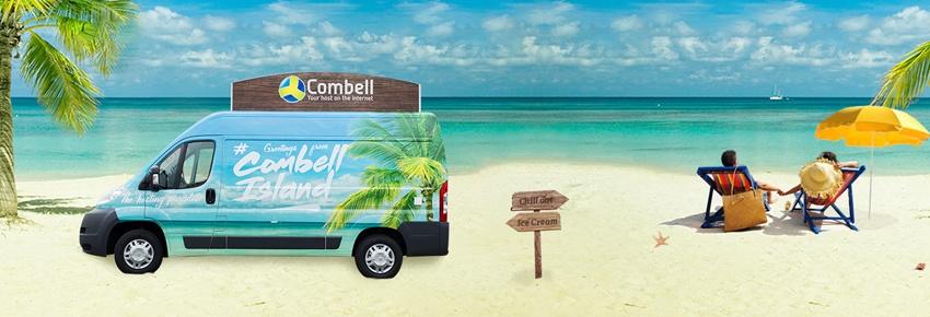 Combell Island ice cream car 2015